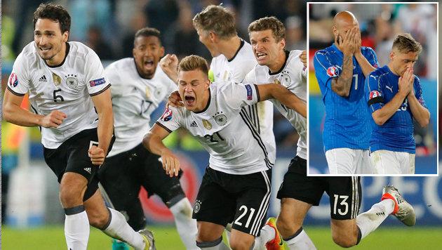 Dieser Elfer-Krimi ist bereits Fußball-Geschichte (Bild: AP)