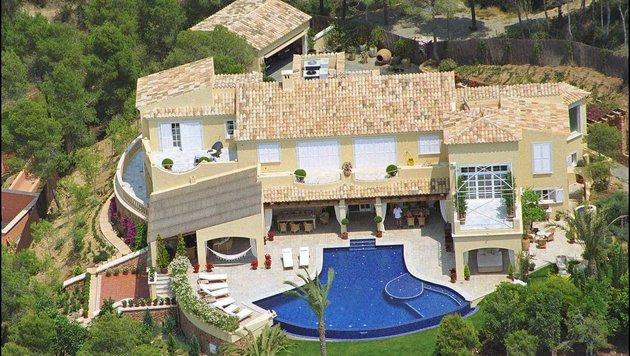 Das Haus von Claudia Schiffer auf Mallorca (Bild: Viennareport)