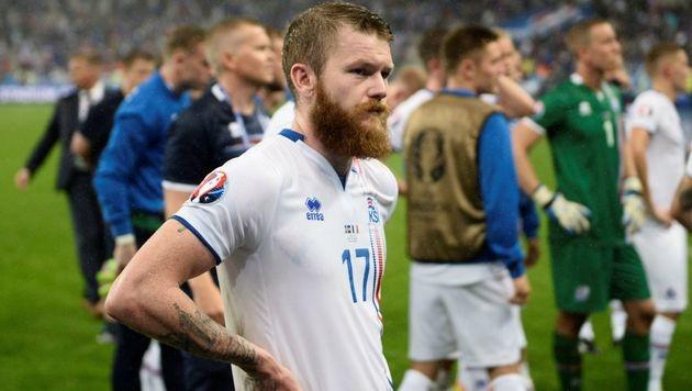 Island als Europameister der Herzen gefeiert (Bild: AFP)
