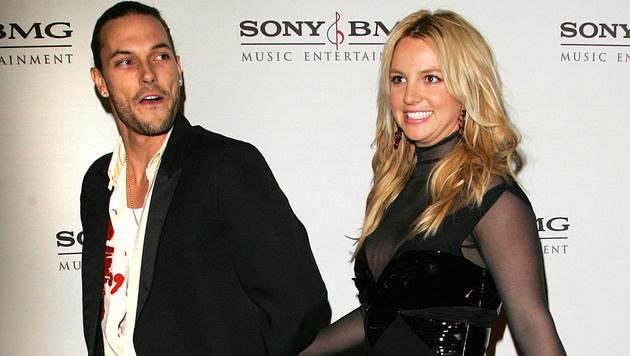 Kevin Federline und Britney Spears (Bild: AP)
