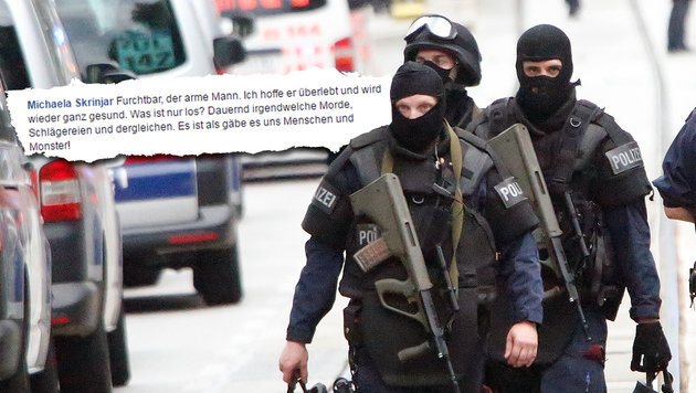 Kopfschuss: Österreich bangt um jungen Polizisten (Bild: Martin A. Jöchl, facebook.com)