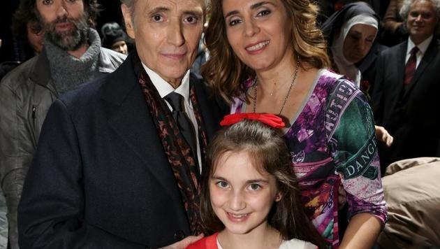 Sabina Puértolas & Lana Matic standen gemeinsam mit Carreras auf der Bühne. (Bild: Karl Schöndorfer)