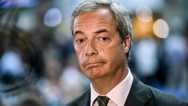 Nigel Farage will keinesfalls an die Spitze der UKIP zurückkehren. (Bild: APA/AFP/PHILIPPE HUGUEN)