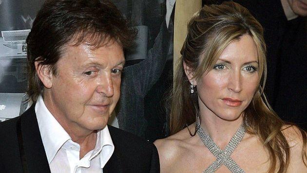 Paul McCartney und Heather Mills (Bild: dpa/A3637 Jörg Carstensen)