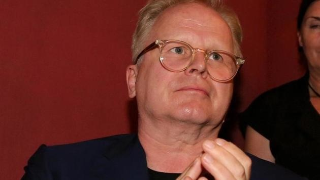 Sänger Herbert Grönemeyer zeigte sich gerührt. (Bild: Karl Schöndorfer)