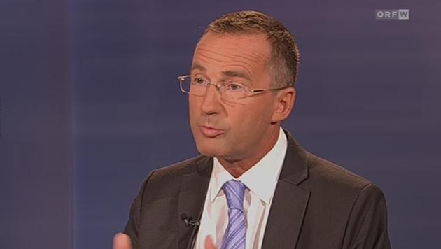 """Wiens Polizeipräsident Gerhard Pürstl in """"Wien heute"""" (Bild: ORF-TVthek)"""