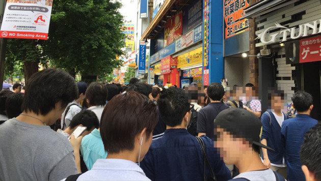 Der Andrang bei der VR-Pornomesse in Tokio war so groß, dass sie abgebrochen werden musste. (Bild: vrtalk.com/forum)