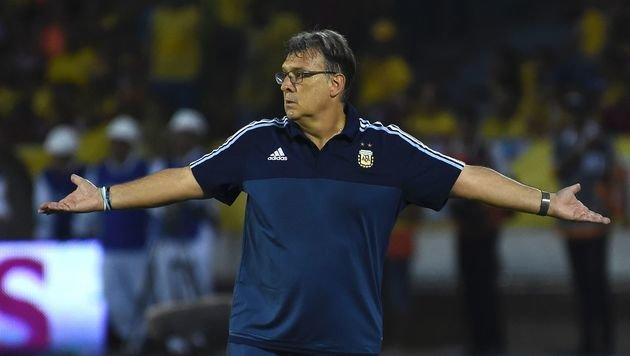 Argentiniens Teamchef Martino schmeißt hin (Bild: AFP)