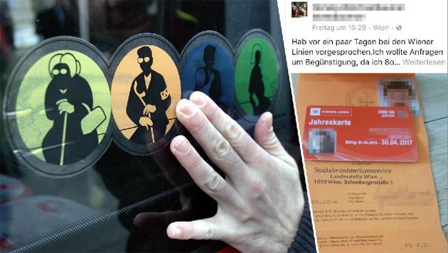 """""""Billig-Öffis für Migranten, wir zahlen Vollpreis"""" (Bild: APA, Kronen Zeitung)"""