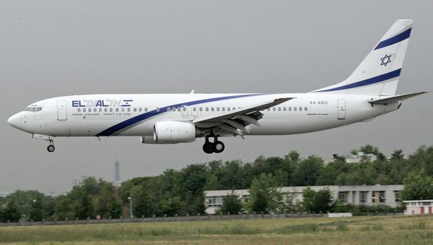 Bombendrohung: El-Al-Flugzeug von Jets begleitet (Bild: JACK GUEZ/AFP/picturedesk.com)