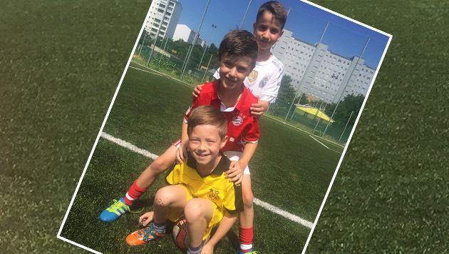 """Fußballkids: """"Der Beste ist Dingsbumsmann"""" (Bild: Kronen Zeitung)"""