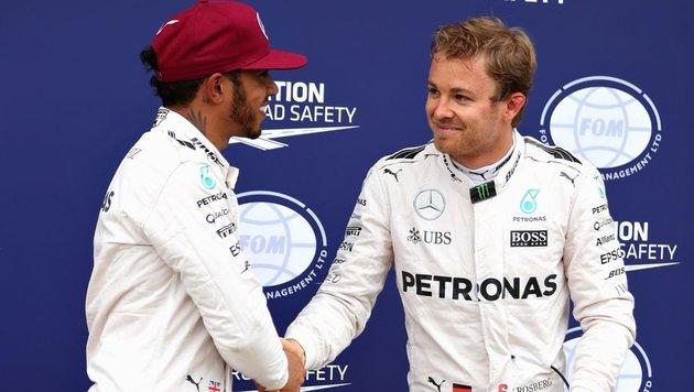 Hamilton: Keine Aussprache mit Rosberg! (Bild: 2016 Getty Images)