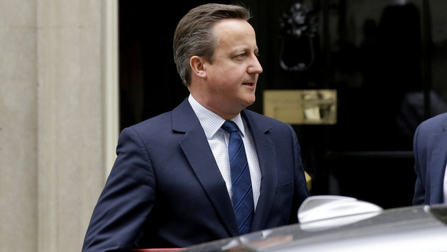 Ex-Premier David Cameron (Bild: ASSOCIATED PRESS)