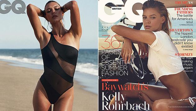 """So sexy zeigt sich Kelly Rohrbach im aktuellen britischen """"GQ""""-Magazin. (Bild: instagram.com/britishgq)"""