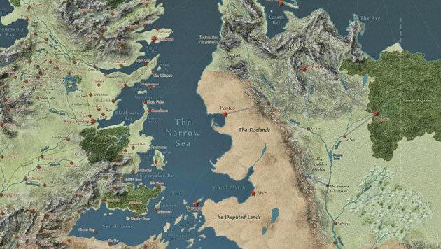 """Mit dieser Karte wird man """"Game of Thrones""""-Profi (Bild: quartermaester.info)"""