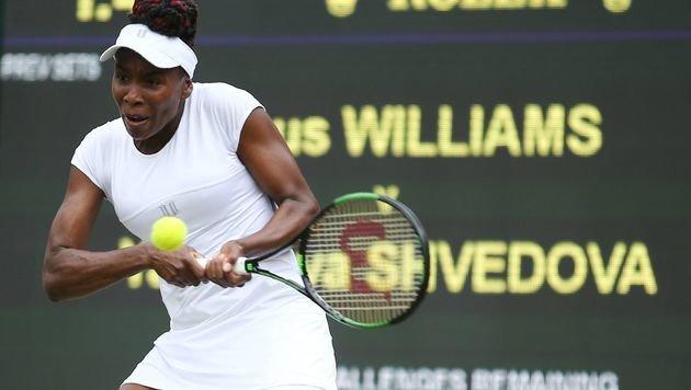 Oldie but Goldie: Venus Williams im Halbfinale (Bild: AFP)