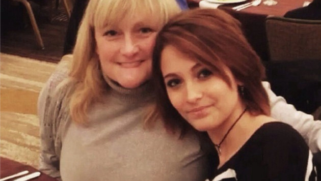 Paris Jackson mit ihrer Mutter Debbie Rowe (Bild: Viennareport)