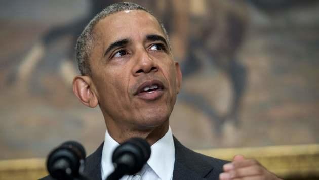 US-Pr�sident Barack Obama (Bild: APA/AFP/NICHOLAS KAMM)