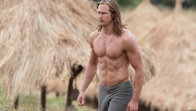 Alexander Skarsgard als Tarzan (Bild: Viennareport)