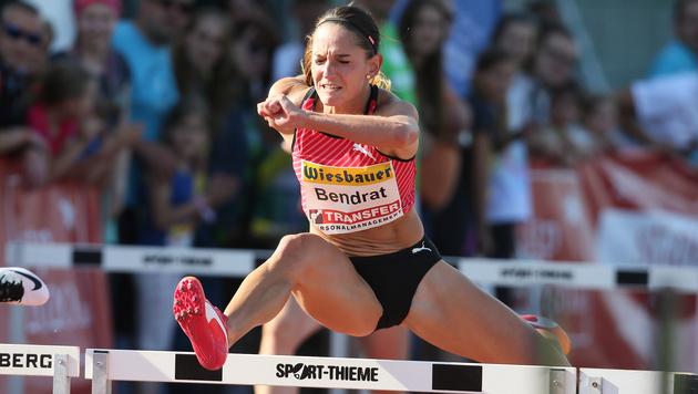 Bendrat erreicht EM-Halbfinale über 100 m Hürden (Bild: GEPA)