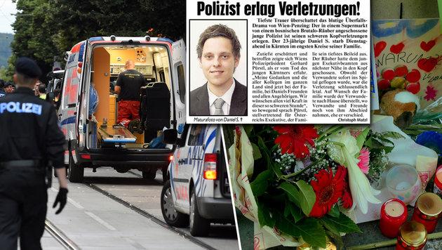 """Daniel """"hatte noch sein ganzes Leben vor sich"""" (Bild: APA/HERBERT P.OCZERET, Gerhard Bartel, Kronen Zeitung)"""