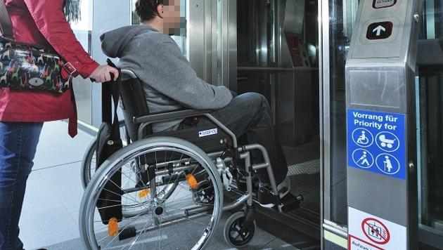 Keine Billig-Öffis für Menschen mit Behinderung (Bild: Wiener Linien/Zinner)