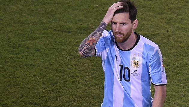 Lionel Messi: 21 Monate Haft! Nur auf Bewährung? (Bild: AFP)
