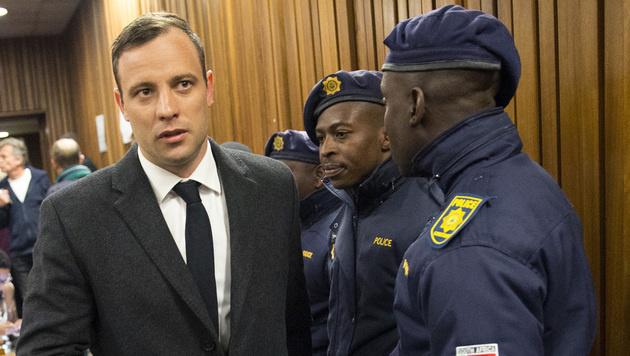 Sechs Jahre Gef�ngnis f�r Oscar Pistorius (Bild: AP)