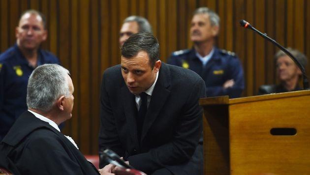 Sechs Jahre Gefängnis für Oscar Pistorius (Bild: AFP)