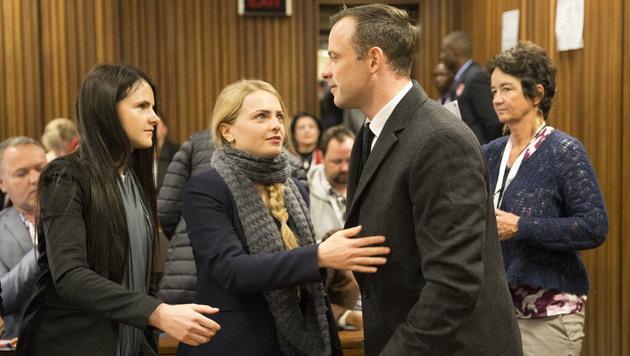 Sechs Jahre Gefängnis für Oscar Pistorius (Bild: AP)