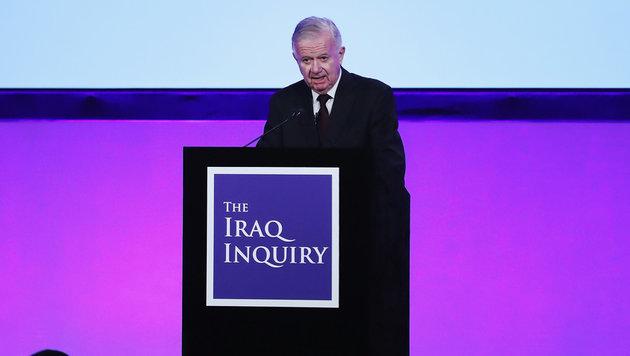 John Chilcot, der Vorsitzende der Kommission (Bild: AP)