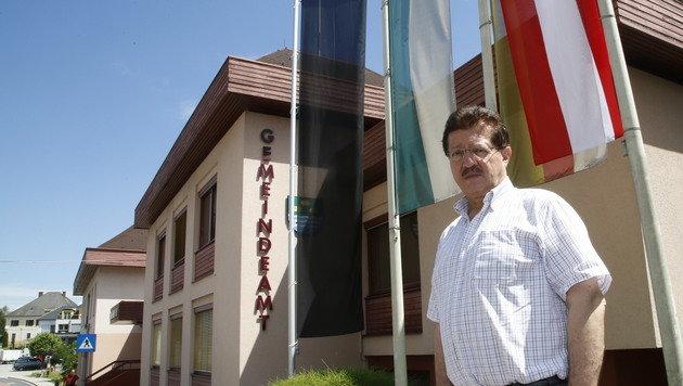 """""""Wir sind alle erschüttert"""", sagt Thomas Krainz, Bürgermeister von Sankt Kanzian. (Bild: Uta Rojsek-Wiedergut)"""