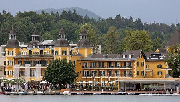 Das Schlosshotel Velden am Wörthersee, aufgenommen am 28. Mai 2007. (Bild: APA/GERT EGGENBERGER)