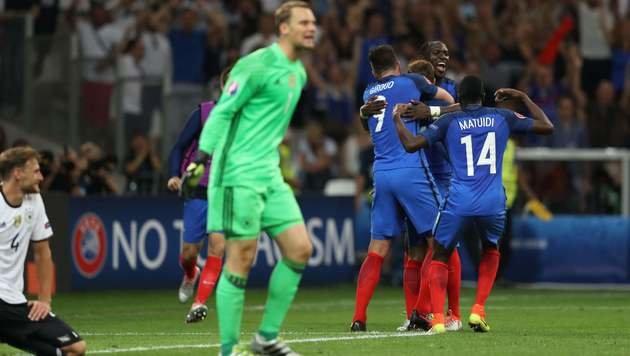 Deutschland, adieu! Griezmann kickt Jogi raus (Bild: AFP or licensors)