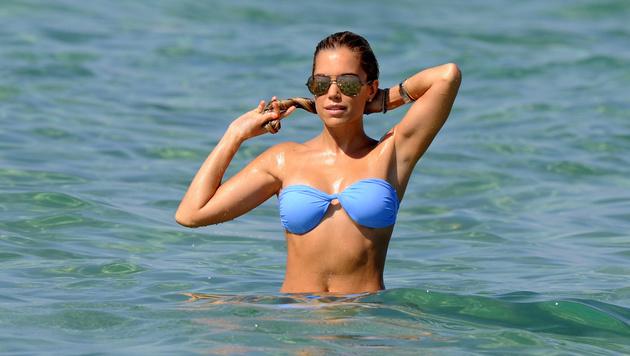Sylvie Meis sexy in Saint Tropez (Bild: Viennareport)