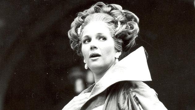 Christiane Hörbiger spielte die Buhlschaft von 1969 bis 1972 sowie 1974. (Bild: Salzburger Festspiele)