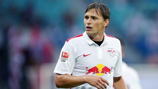 Stefan Hierländer - damals noch für Red Bull Leipzig (Bild: GEPA pictures/ Roger Petzsche)