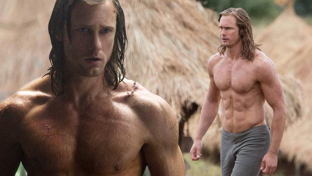 Alexander Skarsgard liebt es, nackt zu sein (Bild: viennareport)