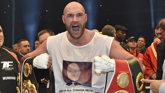 """Fury will Klitschko im Oktober """"auf Bretter legen"""" (Bild: AP)"""