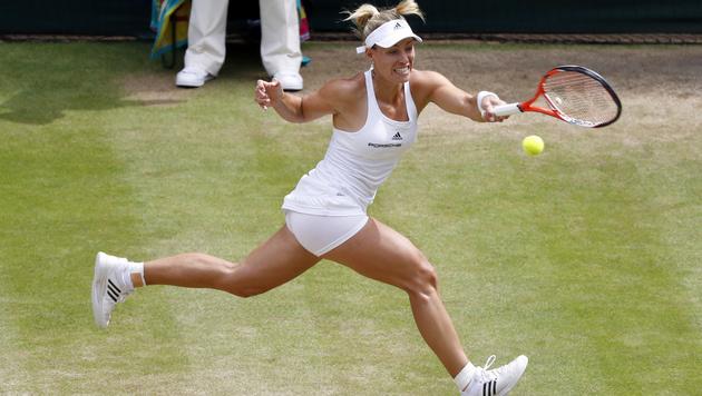 Kerber folgt bärenstarker Serena ins Finale (Bild: AP)