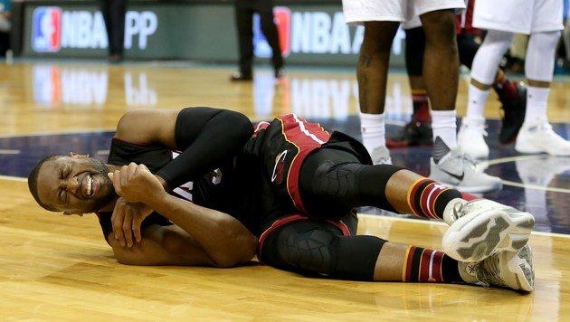 Dwyane Wade hatte in letzter Zeit öfters Verletzungsprobleme. (Bild: APA/AFP/GETTY IMAGES/STREETER LECKA)