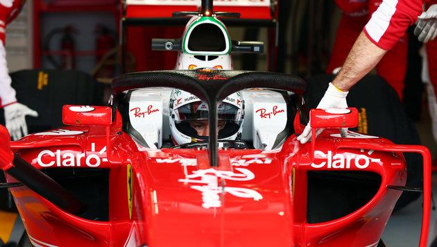 """Vettel über Cockpitschutz: Verzicht wäre """"dumm""""! (Bild: GEPA)"""