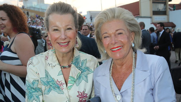 Eva Walderdorff samt Mutter Christa Mayrhofer-Duko (Bild: KRONEN ZEITUNG/Peter Tomschi)