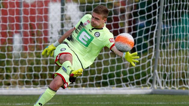 Dmitrovic wird wohl neuer Einser-Goalie bei Sturm (Bild: GEPA)