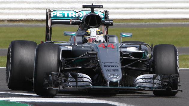 Hamilton dominiert ++ Rosberg von Technik gebremst (Bild: AP)