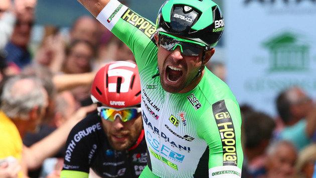 Italiener Ruffoni gewann vorletzte Etappe vor Auer (Bild: GEPA)
