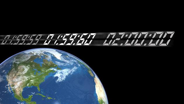 Neujahrstag 2017 wird eine Sekunde länger dauern (Bild: NASA, krone.at)