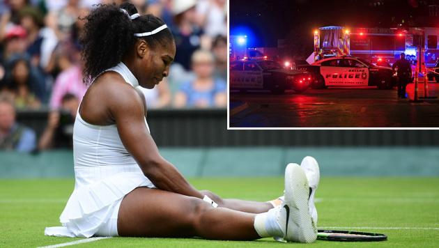 Sportstars reagieren auf Polizeigewalt in USA (Bild: APA/AFP/LEON NEAL, APA/AFP/GETTY IMAGES/Ron Jenkins)