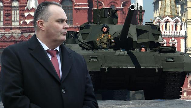 """Doskozil: """"Ohne Russland kein sicheres Europa"""" (Bild: Sepp Pail, APA/AFP/VASILY MAXIMOV)"""
