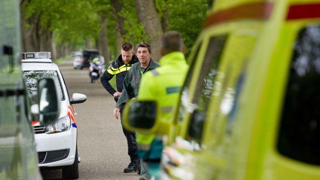 Niederlande: Vier Menschen bei Unfall ertrunken (Bild: APA/AFP/ANP/Jacob Van Essen (Symbobild))